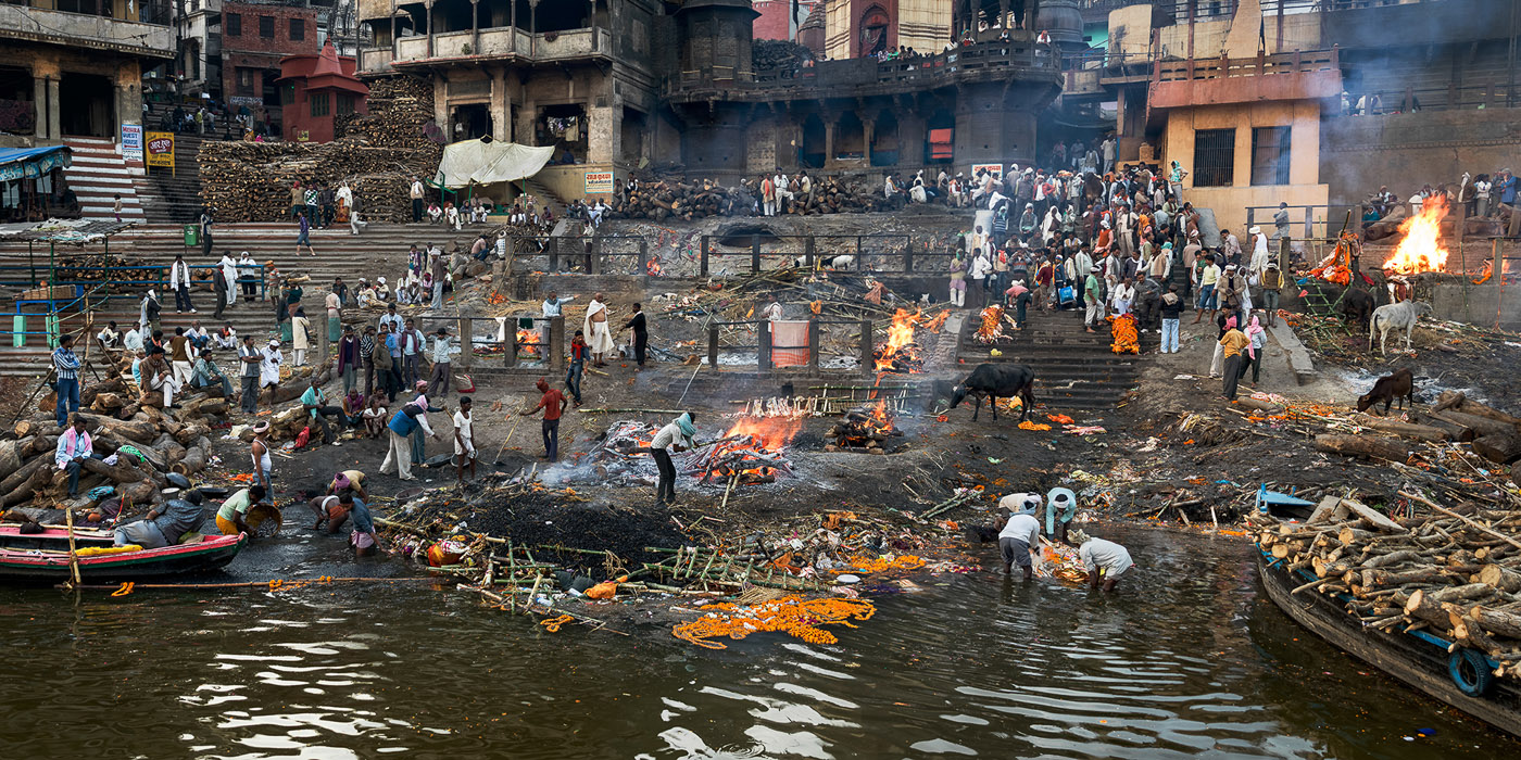 Manikarnika Ghat  Varanasi, India, 2013
