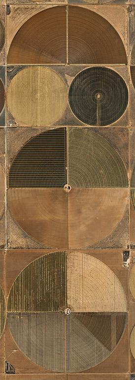 Pivot Irrigation #4  High Plains, Texas Panhandle, USA, 2011