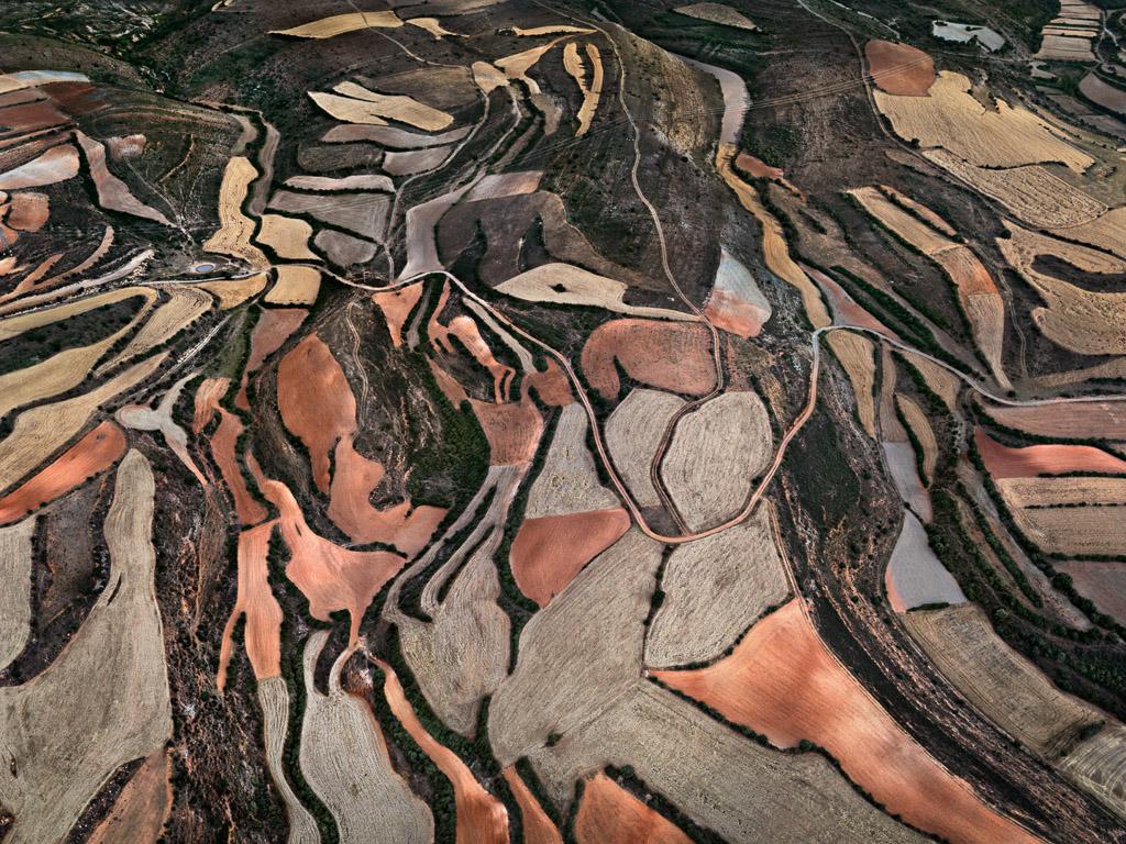 Dryland Farming #24  Monegros County, Aragon, Spain, 2010