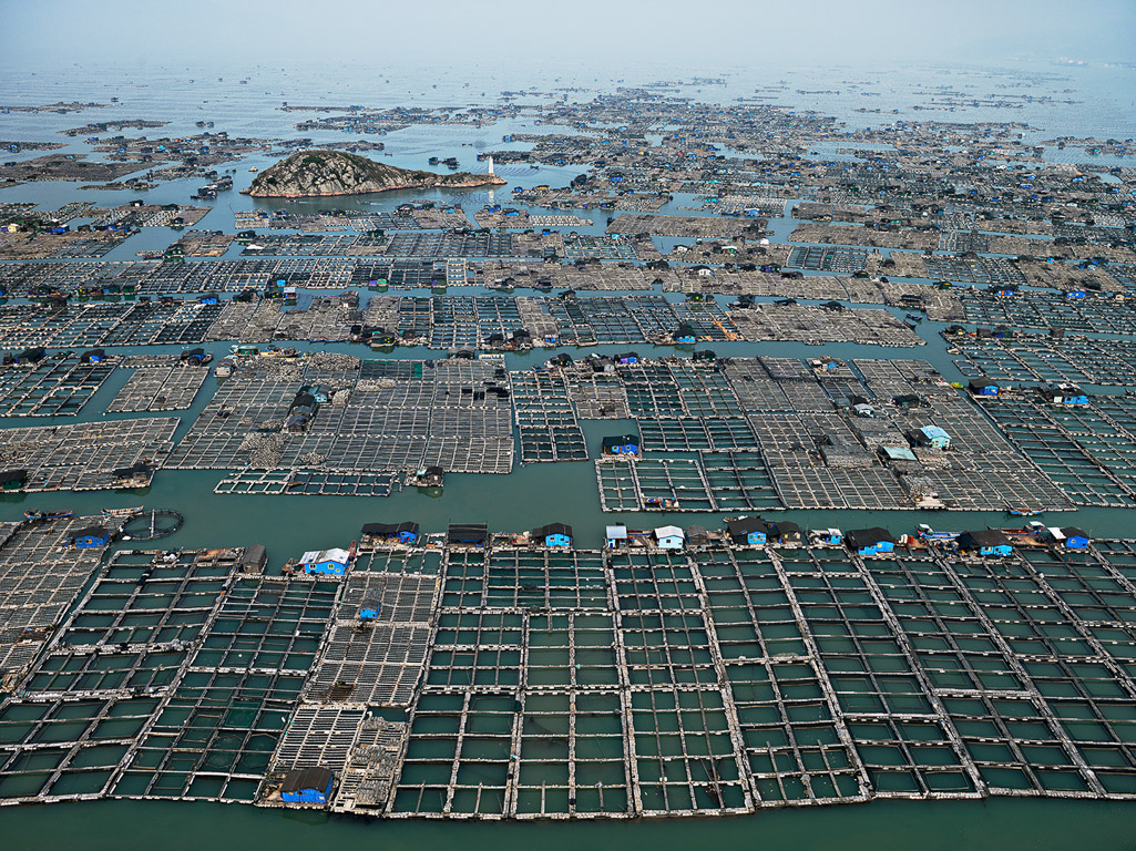 Marine Aquaculture #1  Luoyuan Bay, Fujian Province, China, 2012