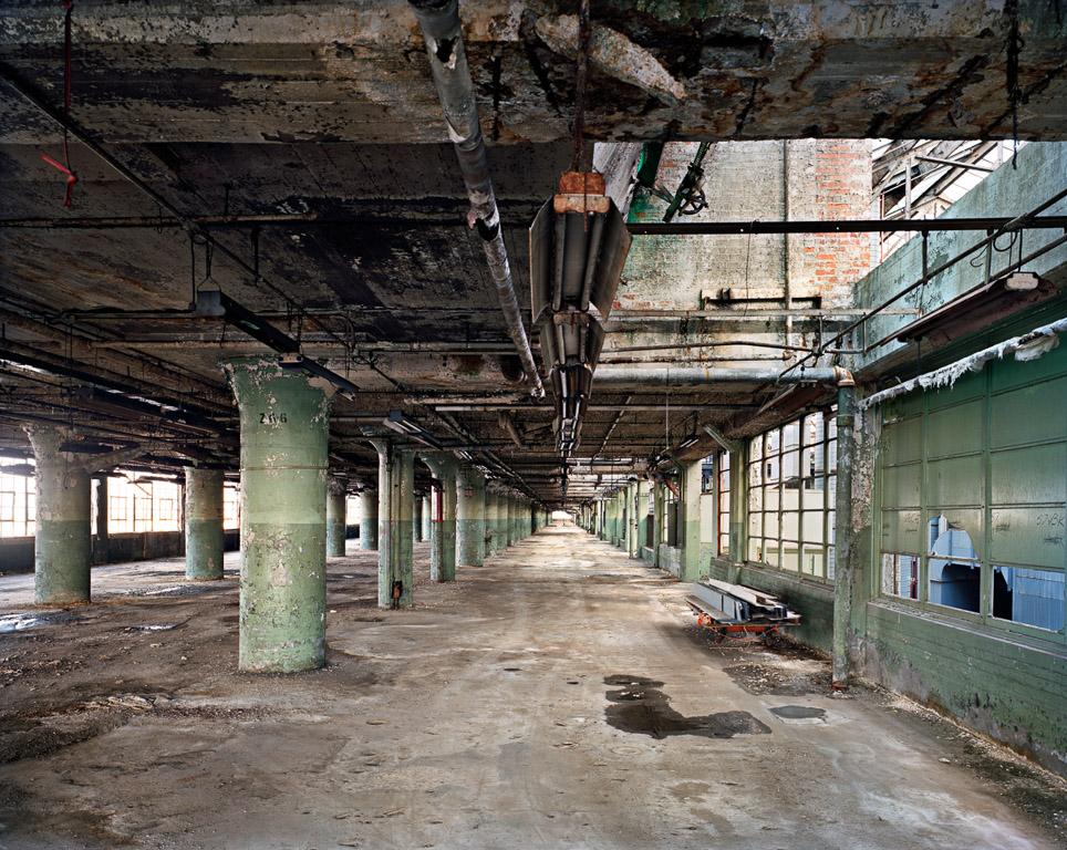 Ford's Highland Park Plant #1, Loading Corridor  Detroit, Michigan, USA, 2008
