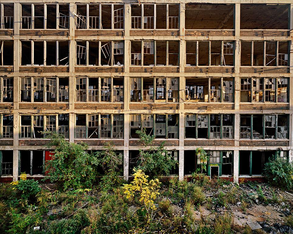 Packard Plant #2  Detroit, Michigan, USA, 2008