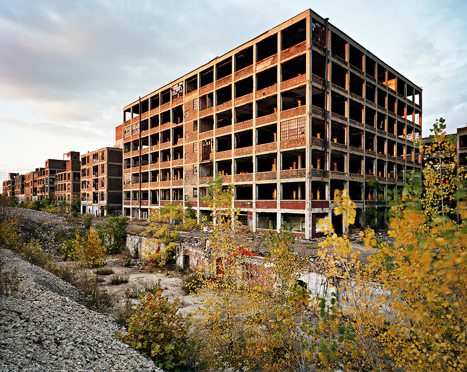 Packard Plant #1  Detroit, Michigan, USA, 2008