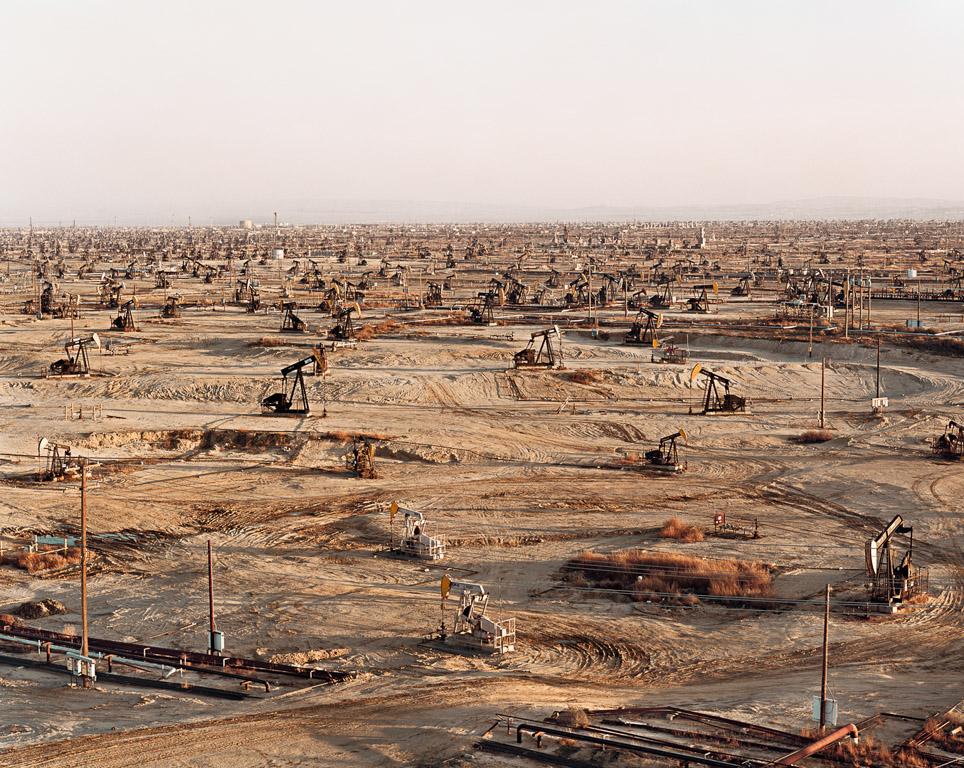 Oil Fields #2  Belridge, California, USA, 2003