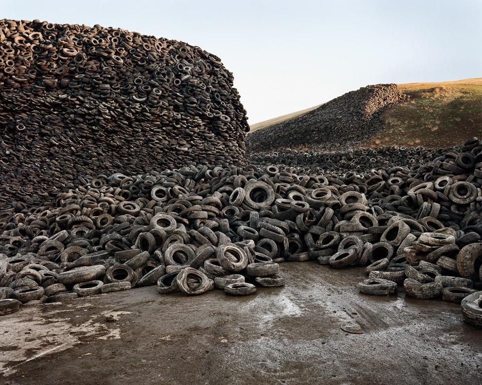 Oxford Tire Pile #5  Westley, California, USA, 1999