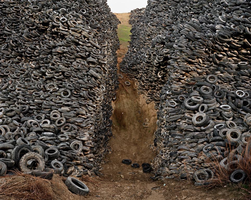 Oxford Tire Pile #8  Westley, California, USA, 1999