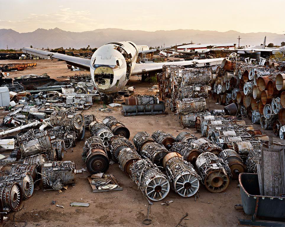 Jet Engines  Tucson, Arizona, USA, 2006