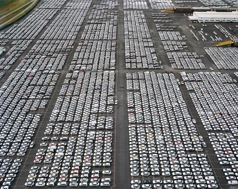 VW Lot #1  Houston, Texas, USA, 2004