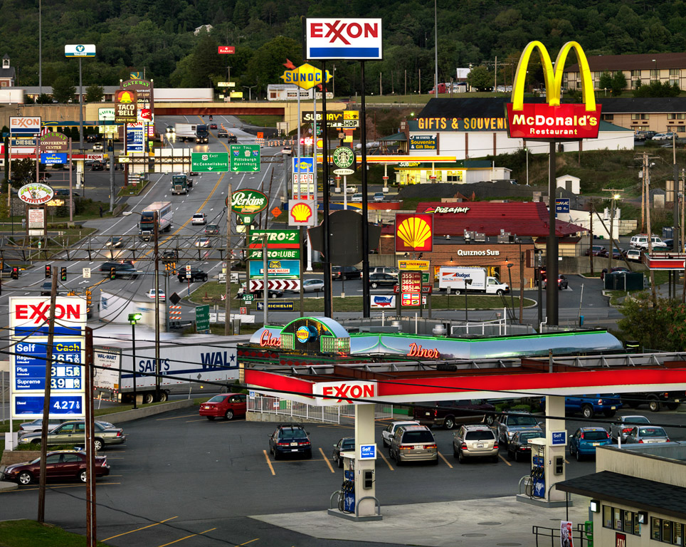 Breezewood  Pennsylvania, USA, 2008