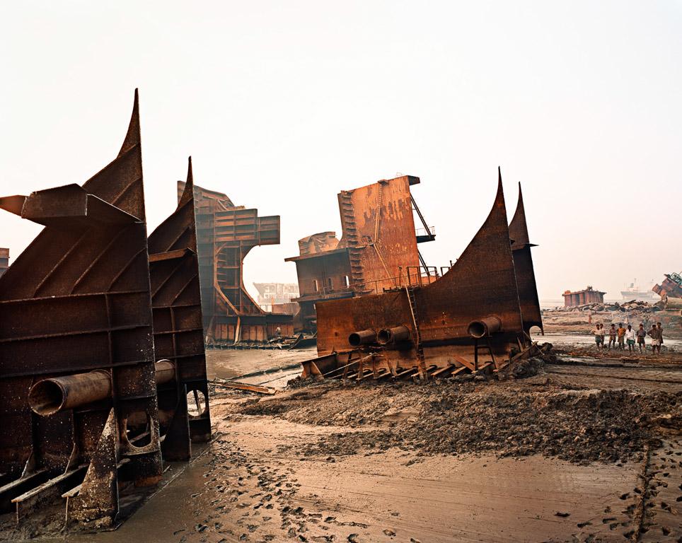 Shipbreaking #9a  Chittagong, Bangladesh 2000