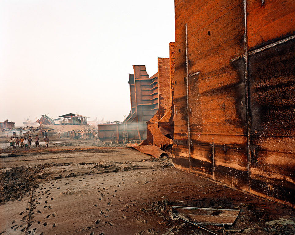 Shipbreaking #9b  Chittagong, Bangladesh 2000