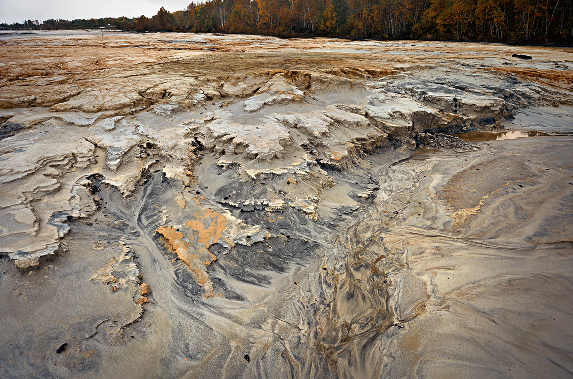 Uranium Tailings #5  Elliot Lake, Ontario 1995