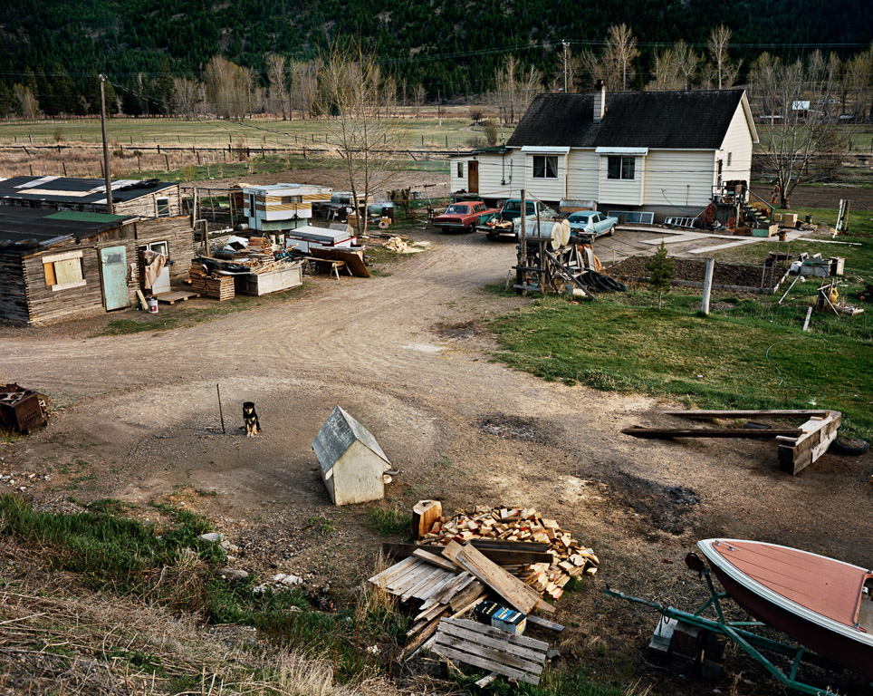Homesteads #30  West of Merritt, British Columbia 1985
