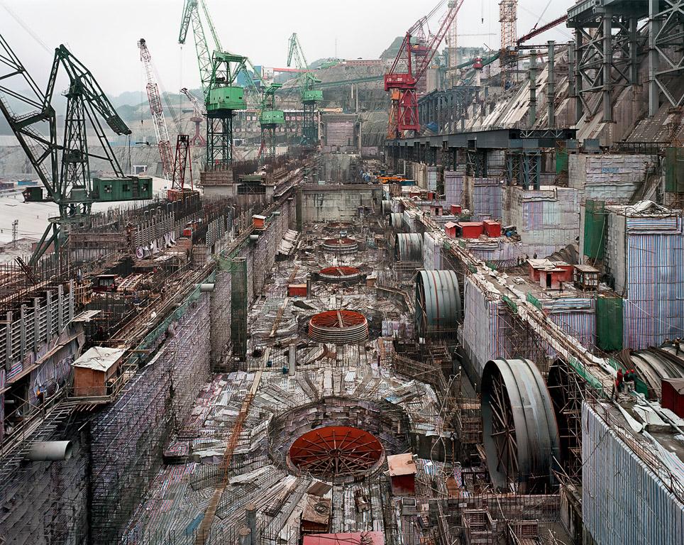 Dam #6  Three Gorges Dam Project, Yangtze River, China, 2005