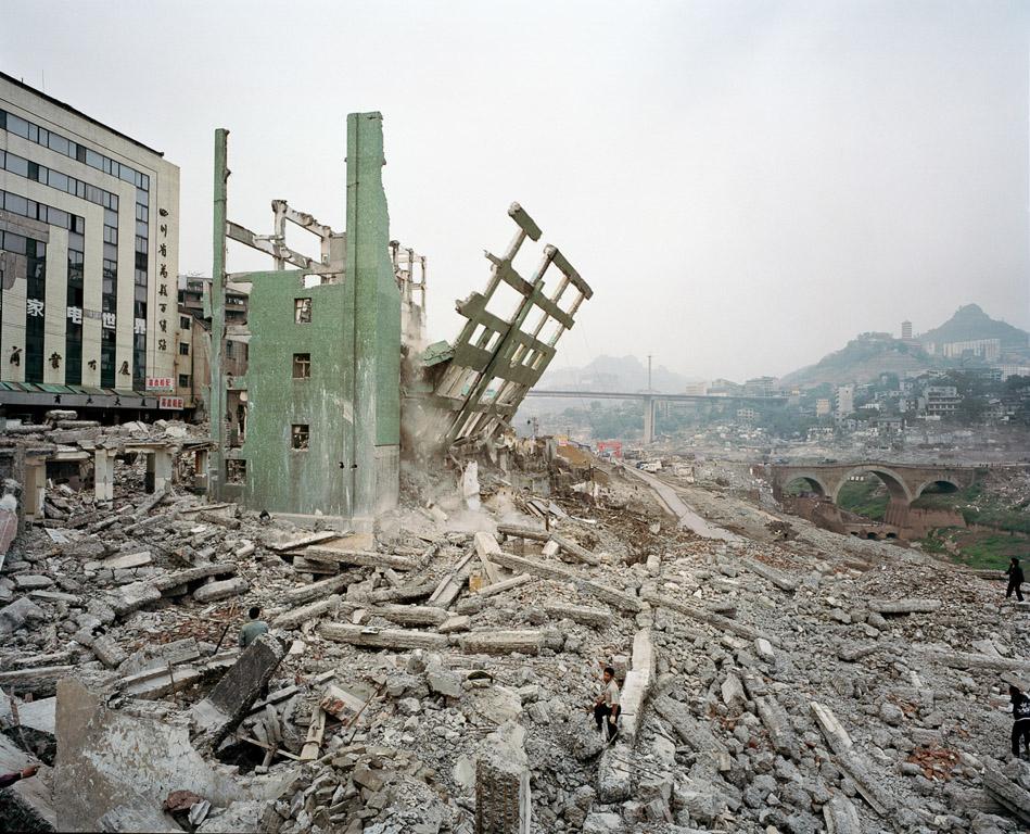 Wan Zhou #4  Three Gorges Dam Project, Yangtze River, China, 2002