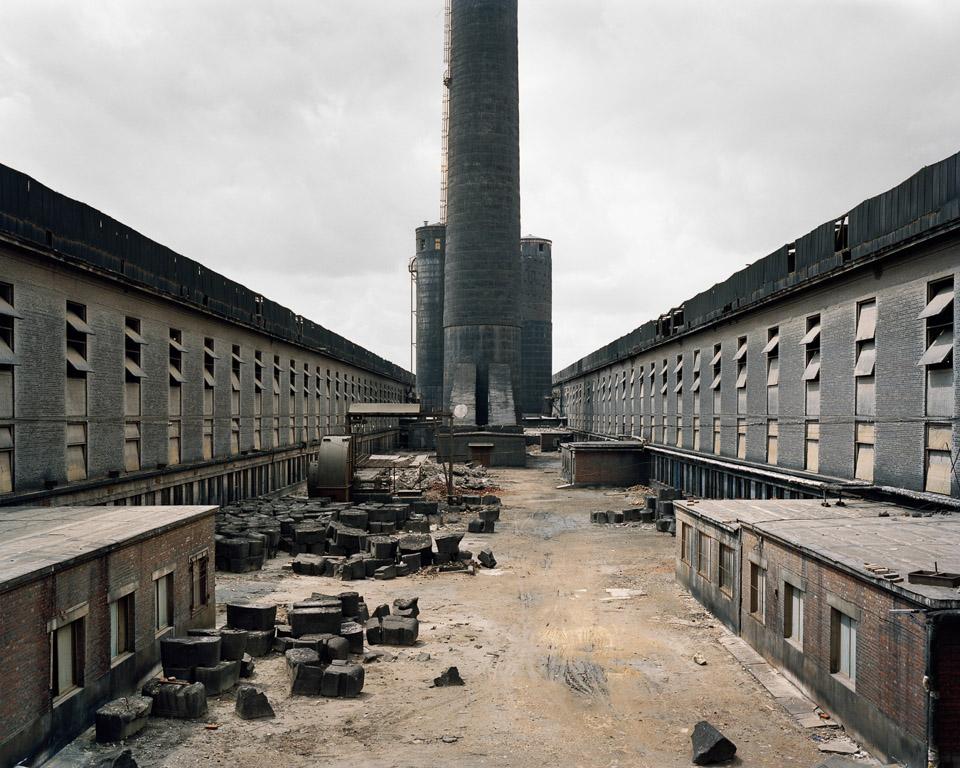 Old Factories #1  Fushun Aluminum Smelter, Fushun City, Liaoning Province, China, 2005
