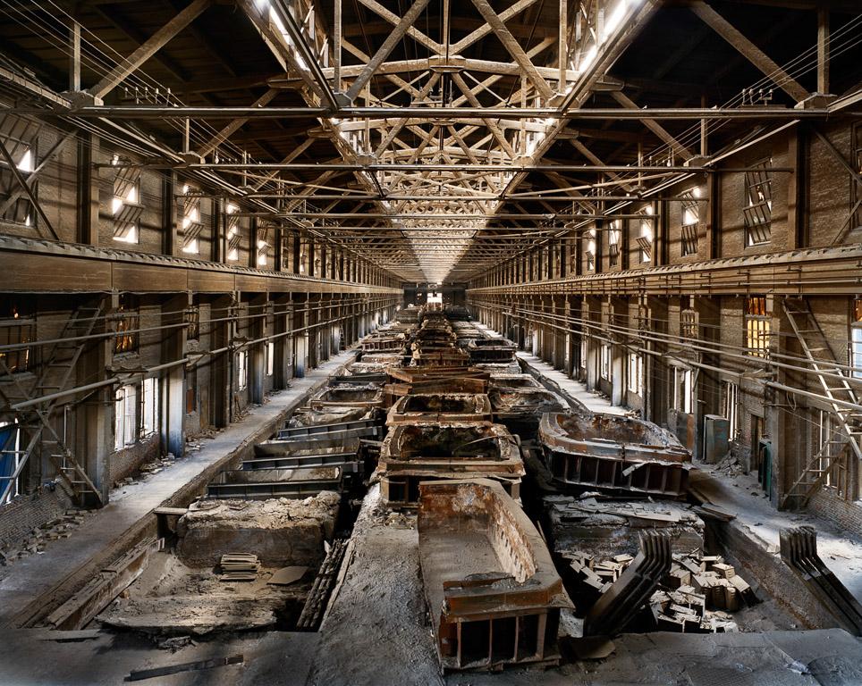 Old Factories #9  Fushun Aluminum Smelter, Fushun City, Liaoning Province, China, 2005