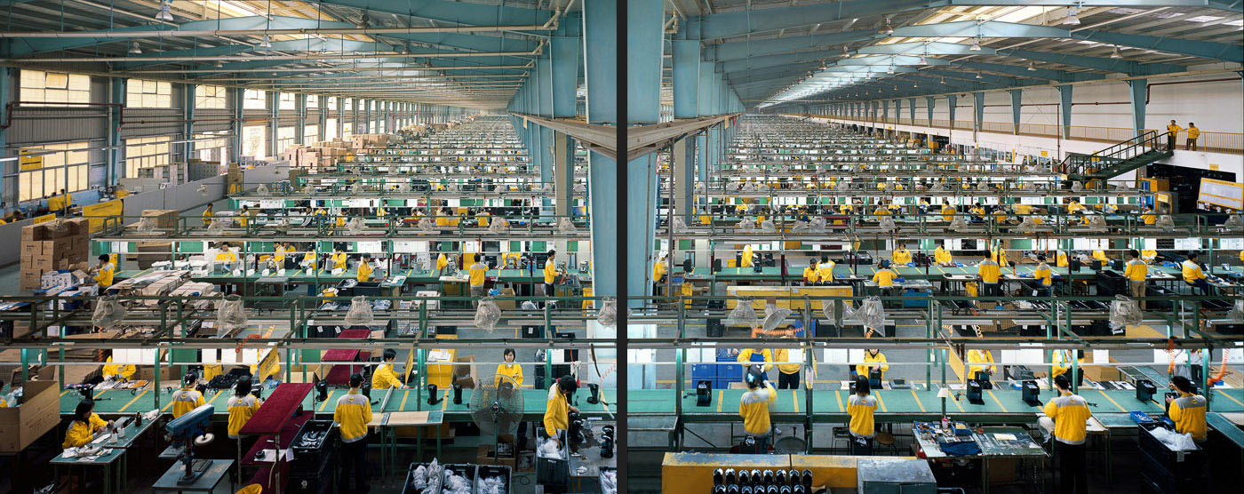 Manufacturing #10ab  Cankun Factory, Xiamen City, China, 2005