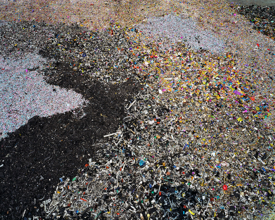 China Recycling #8  Plastic Toy Parts, Guiyu, Guangdong Province, China, 2004