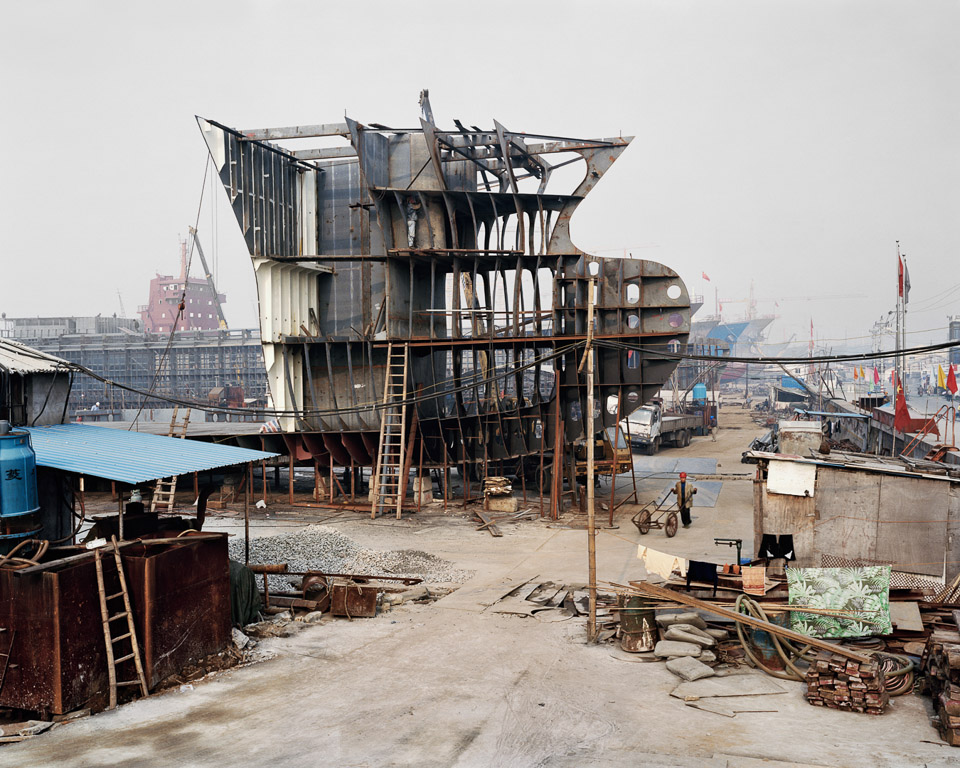 Shipyard #7  Qili Port, Zhejiang Province, China 2005