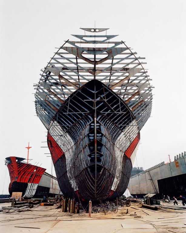 Shipyard #11  Qili Port, Zhejiang Province, China 2005