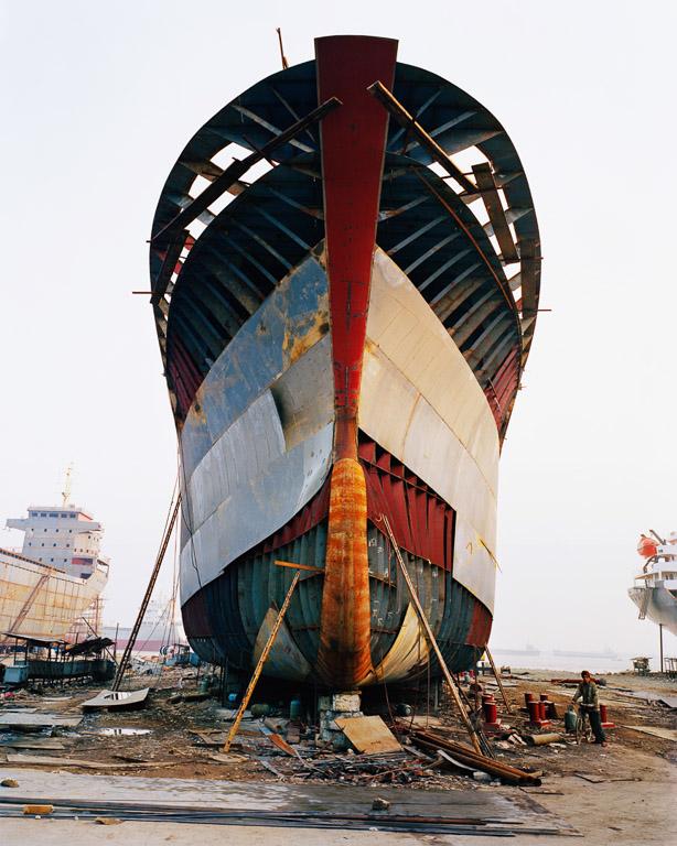 Shipyard #13  Qili Port, Zhejiang Province, China 2005