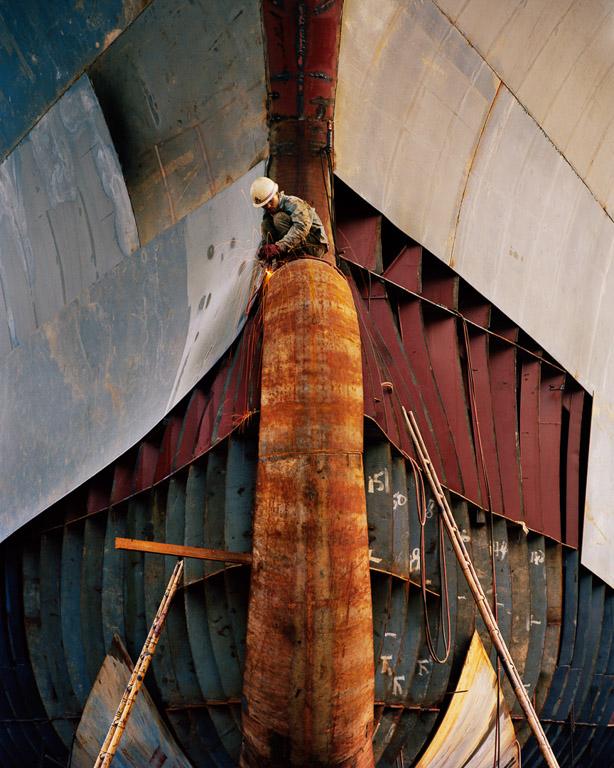Shipyard #18  Qili Port, Zhejiang Province, China, 2005