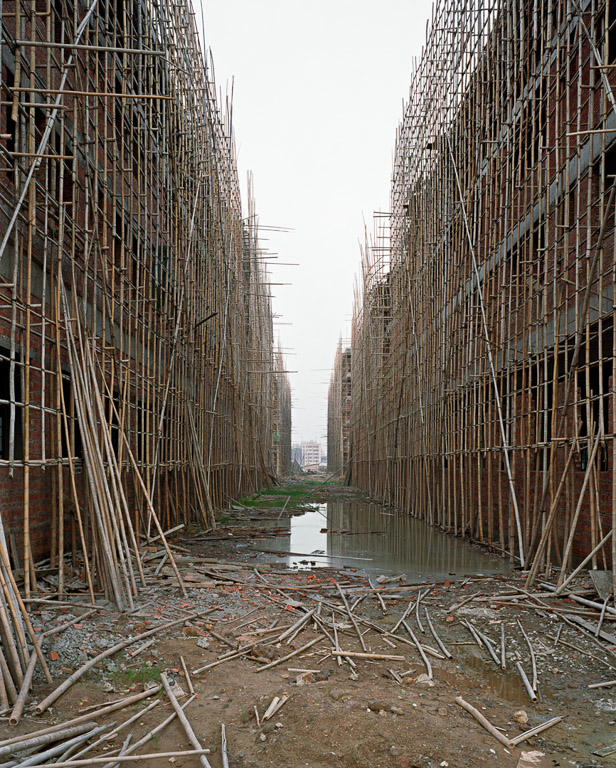 Urban Renewal #1  Factory Construction, Outside Shenzhen, Guangdong Province, China 2004