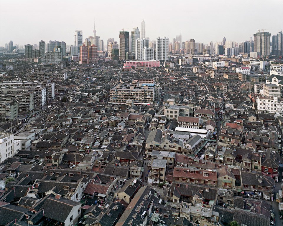 Urban Renewal #4  Old City Overview, Shanghai, China, 2004