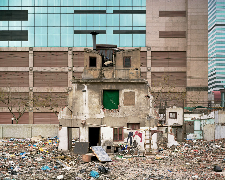Urban Renewal #11  Hold Out, Shanghai, China 2004