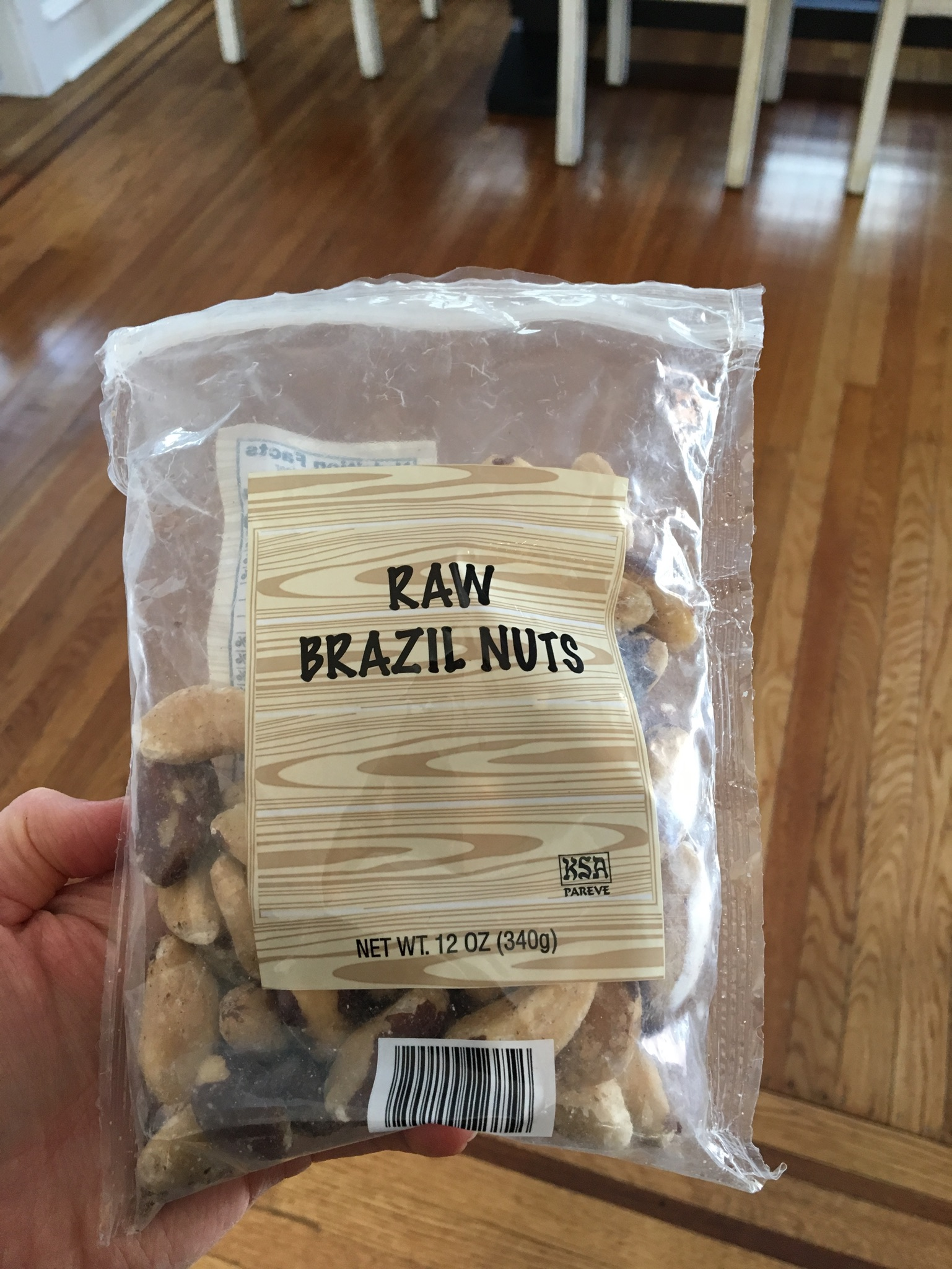 Brazil Nuts  - Why I love them:Brazil Nuts pack a serious nutritional punch.  Just a few of these nuts provide your daily dose of selenium - a mineral that is great for thyroid health, among many other health benefits.