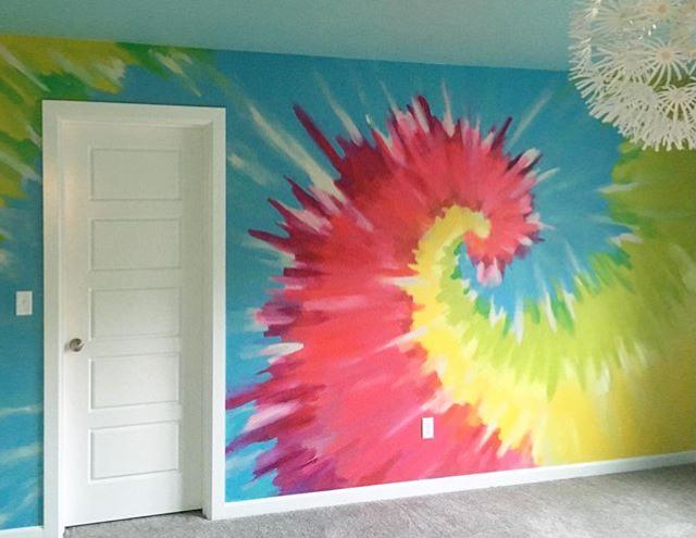 Tie Dye Wall Murall Accent.jpg