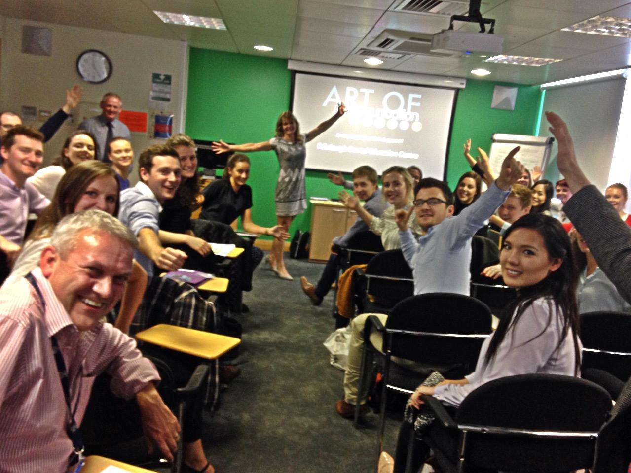 Scottish dentists at the start of their career enjoy an afternoon of communication CPD   -