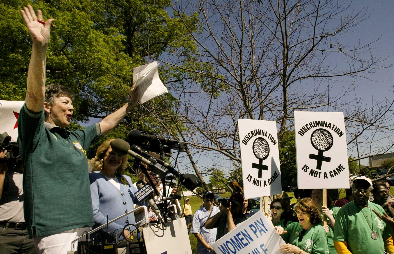 Martha Burk's Pseudo Event - June 2003