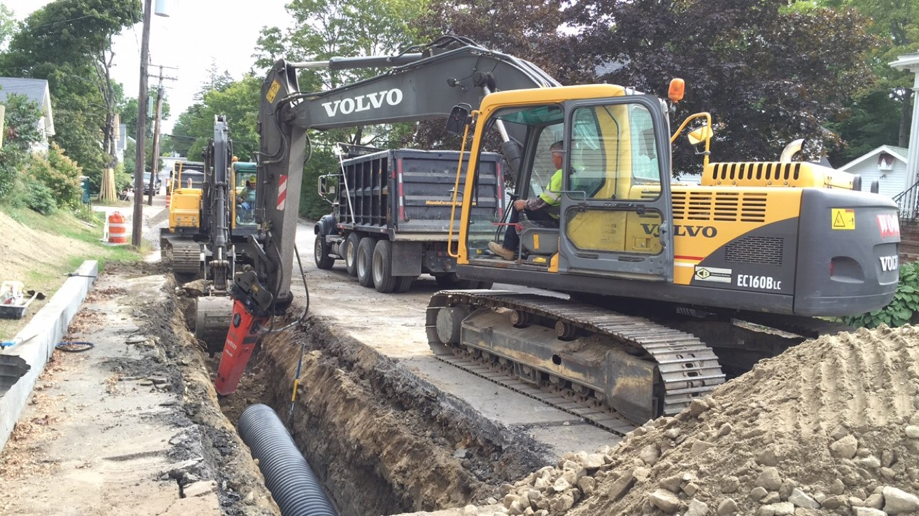 North Street  Drainage Improvements - Bath, Me.