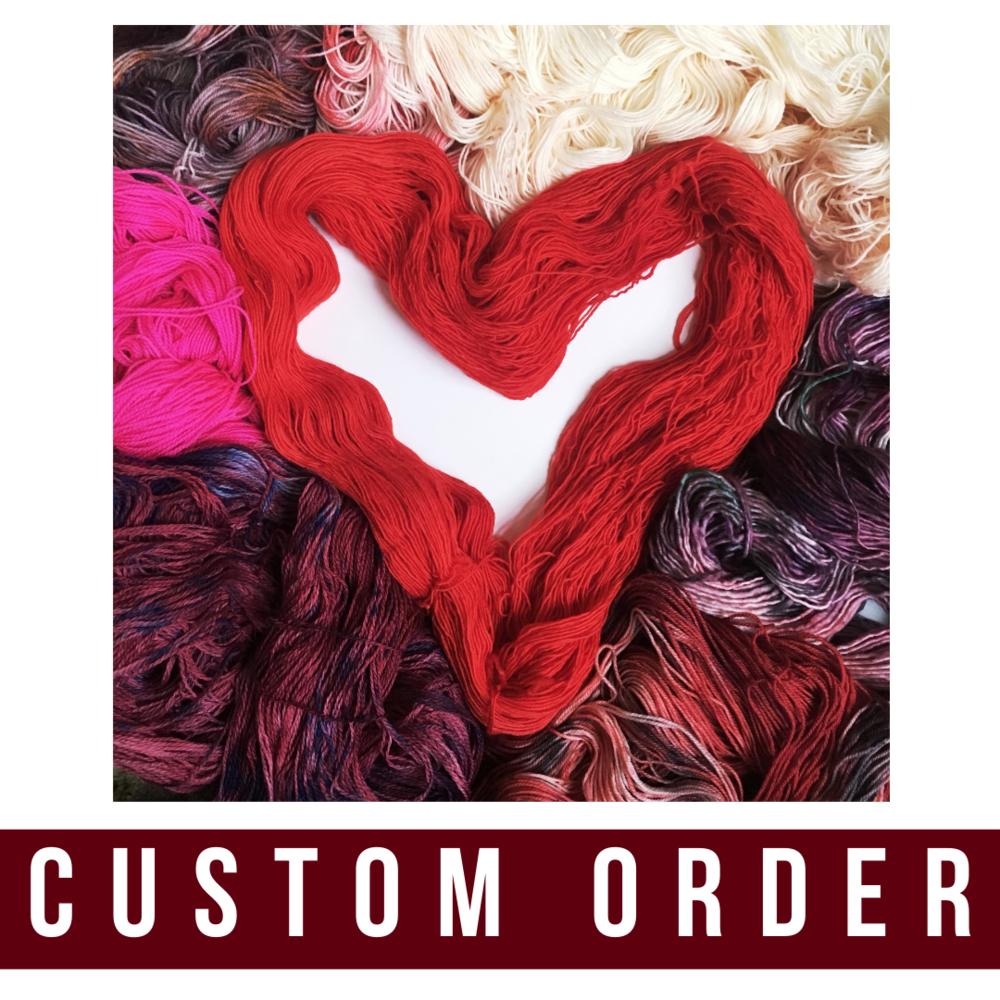 custom order for Anne
