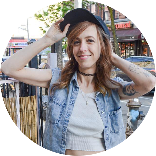 Elma is the owner of Queen of Swords in Bushwick, NY. She is a stylist that intuitively tunes into each individual's needs and concerns about their hair. With 10 yrs of experience, Elma delivers an authentic experience and it is apparent that she genuinely loves cutting and coloring hair.