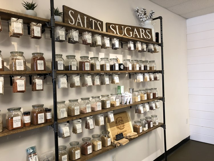 SUGARS & SALTS - Kick up your cooking a notch by incorporating flavored sugars and salts. You can choose from a wide selection of quality sugars and salts that we have.