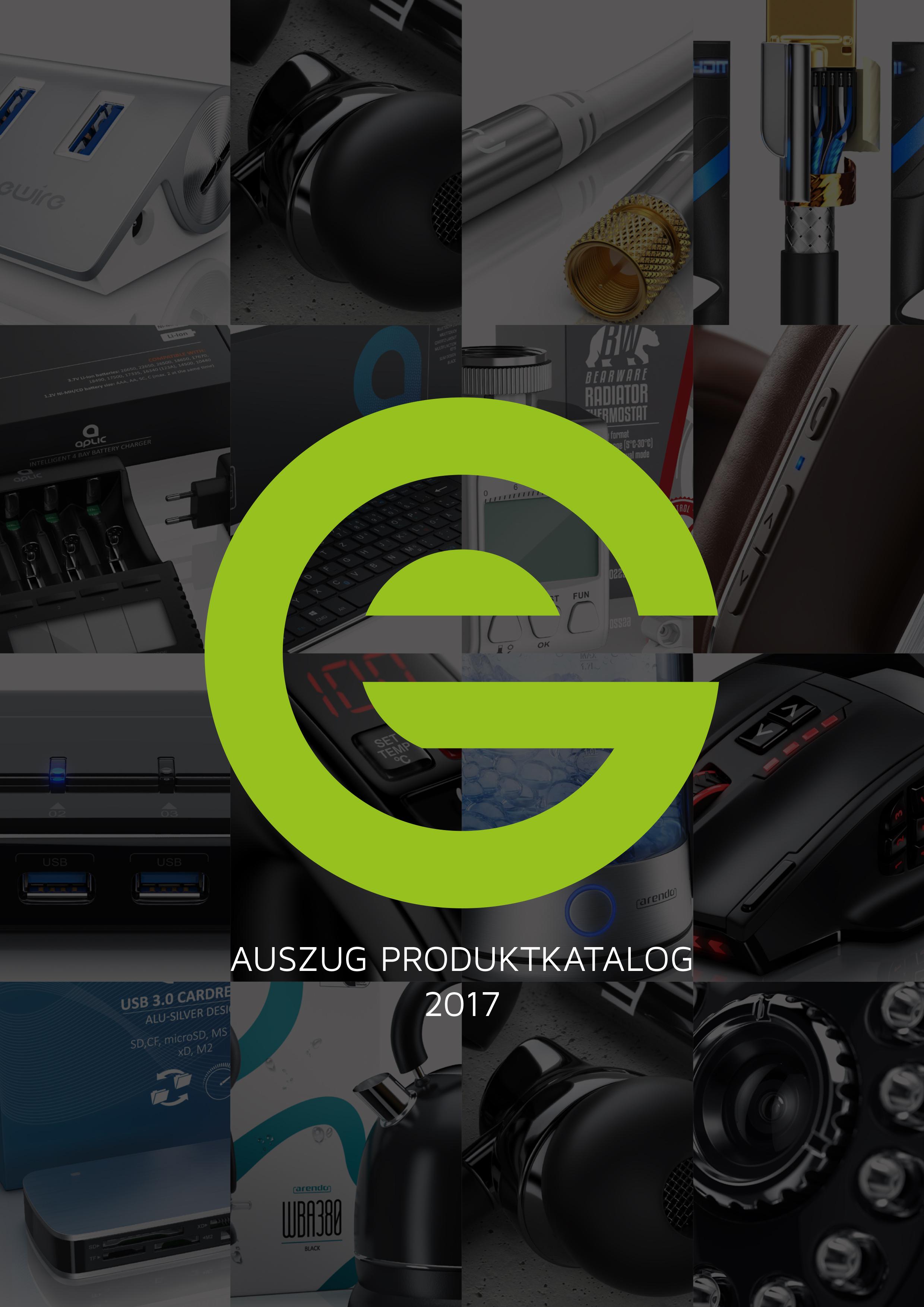 Auszug Produktkatalog 2017..Summary Product Catalog 2017 (GER)