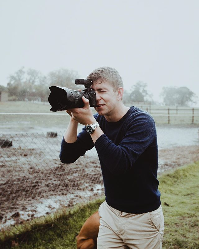 Here's a rare image of me behind the camera thanks to @isaacurban, shooting for @hatchattire. Even with the rain I loved this shoot up in the Barossa Valley 👌🏽 excuse the squint