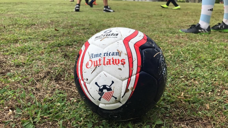 Help support us in our effort to donate as many soccer balls to deserving youth organizations around the world and U.S.  When you buy one of our Senda soccer balls, we will set one aside to donate to a worthy cause. Buy yours here:  https://store.theamericanoutlaws.com/products/2017-ao-soccer-ball-buy-one-donate-one   Get involved and request a deserving organization to donate these balls to:  korey@theamericanoutlaws.com    Past projects:   - Fire victims in Bastrop. - Underfunded clubs around the world and around the U.S. - Panama community centers. -  SESSI, Colorado Springs Crime prevention .  -  Camp Independence in St Louis . -  Soccer Without Borders in Oakland, CA  - Mustard Seed communities in Kingston, Jamaica - Austin police and community centers      About SENDA ATHLETICS     Senda makes top quality soccer balls in a socially responsible way. All of their balls are Fair Trade certified, which means better livelihoods, no child labor, and improved working conditions for ball makers. The American Outlaws have partnered with Senda to create a limited-edition AO ball, and for every ball sold one is donated to underprivileged kids in need.