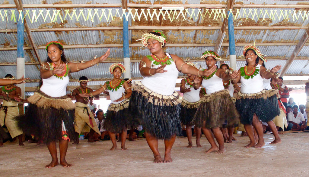 Rising Tides Can't Stop the Dancing in Kiribati - Published 11.4.2015