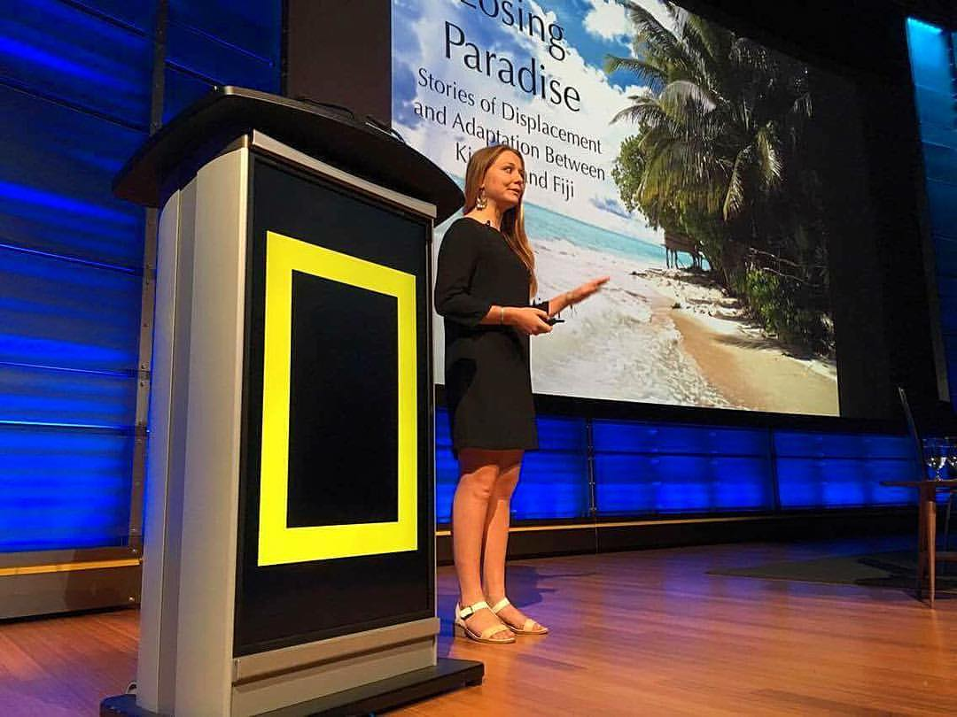 Presented at the National Geographic Headquarters upon returning from the islands in July 2016. - Read More