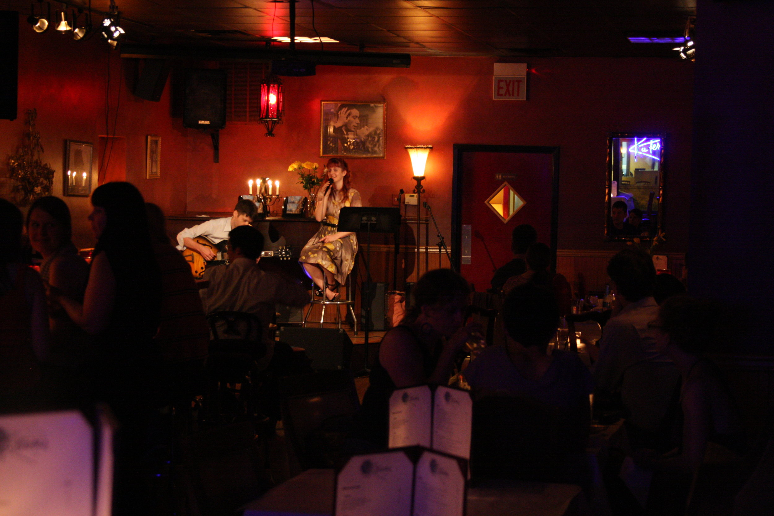 Christy Bennett Duo at Katerina's