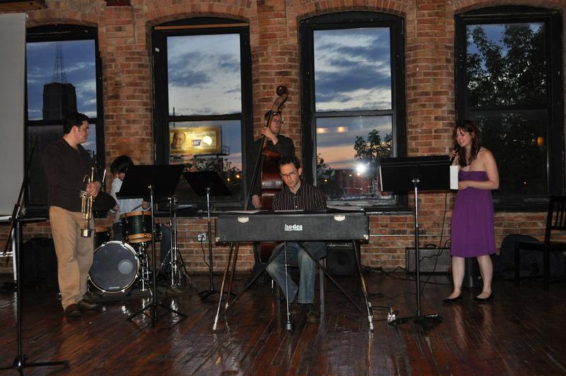 Christy Bennett Quintet at the Living Room Lounge
