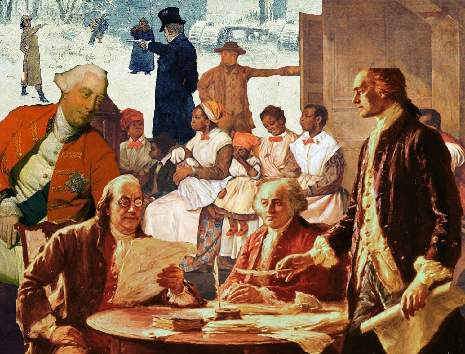 I DEMAND SATISFACTION - A TOAST TO THE SIGNING OF THE DECLARATION OF INDEPENDENCE