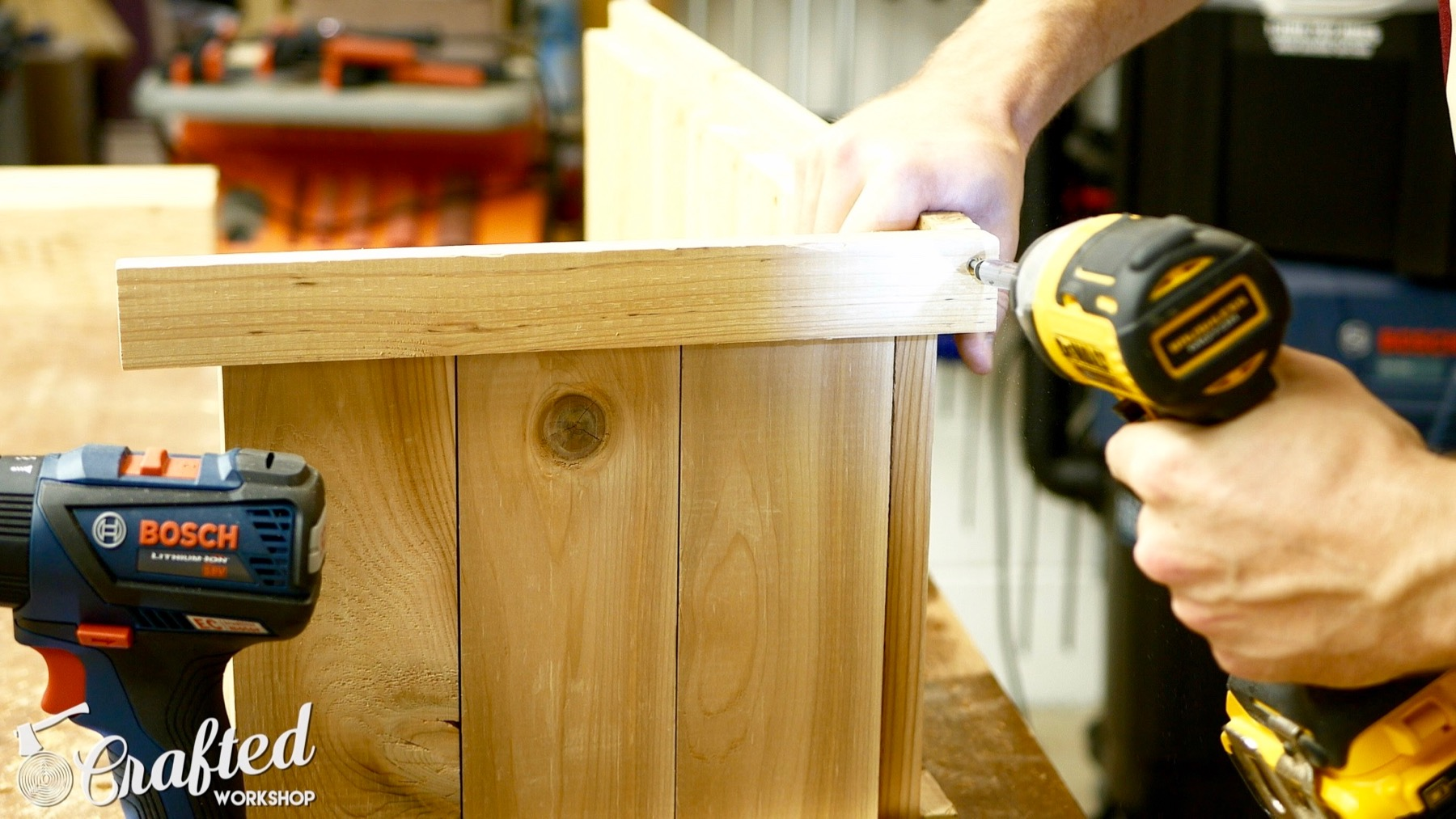 cedar planter box diy how to