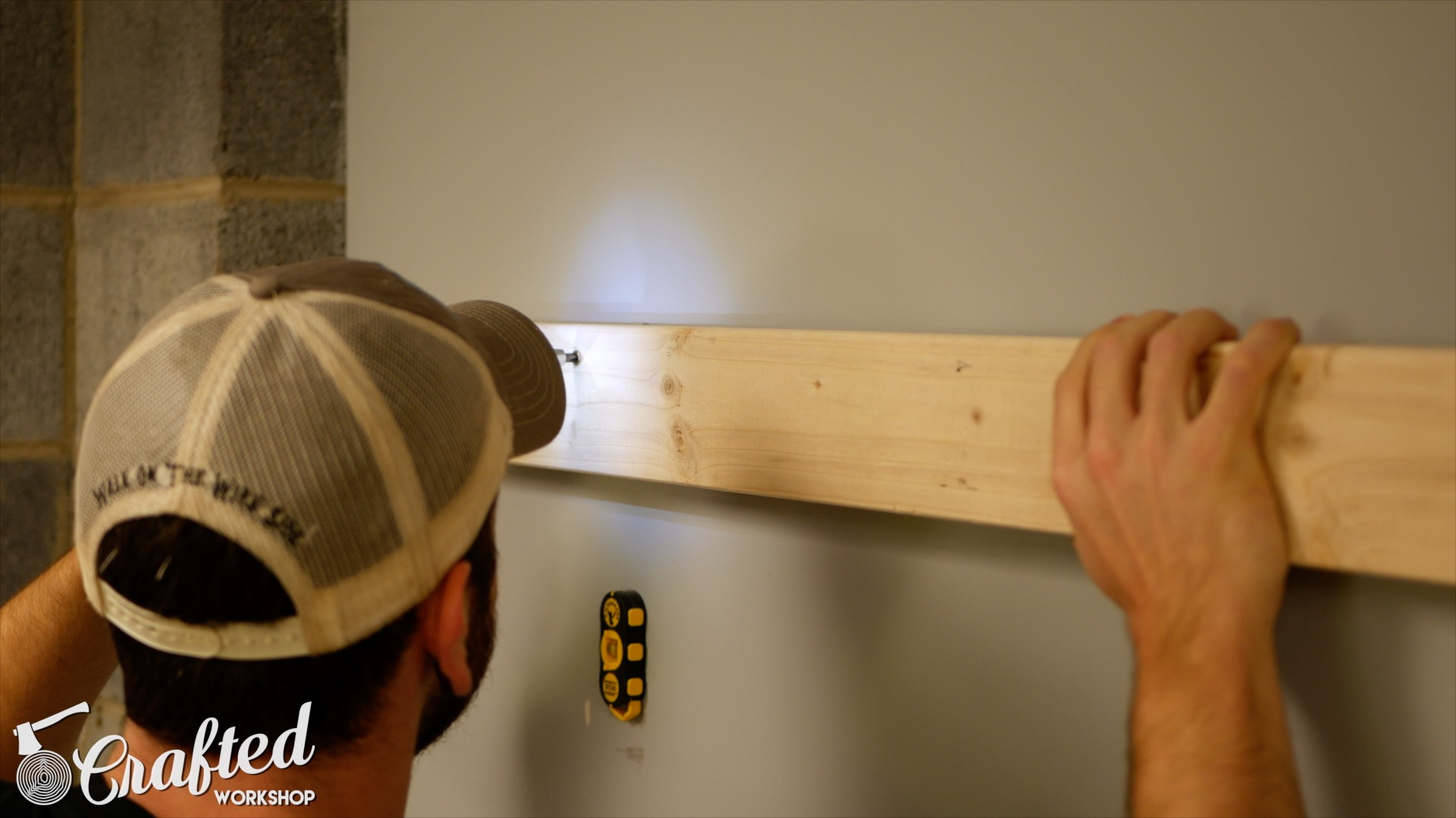 diy bike rack attaching 2x4