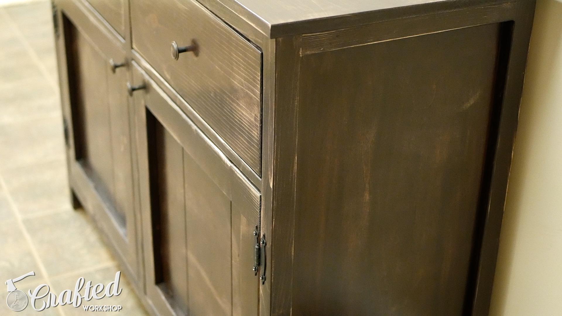 diy sideboard buffet cabinet kreg jig projects