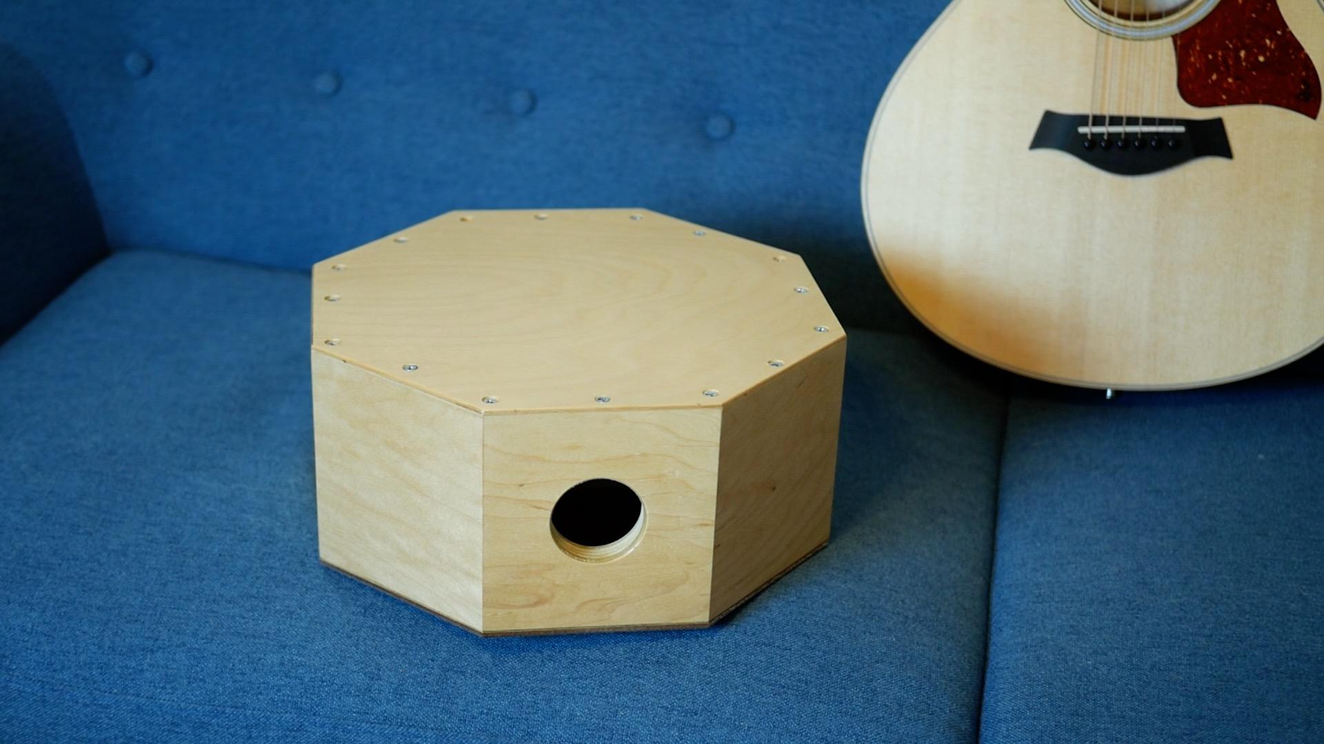 Wood Snare Drum cajon diy